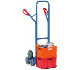 Tubular steel stairway truck • max load 200 kg • boxes not included