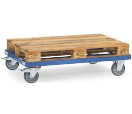 Light duty pallet dolly 1230 x 820 • max load 500 kg • for Euro size pallets