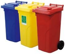 Conteneurs à déchets et de recyclage • 120 Litres