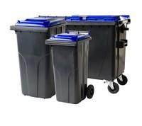 Abfall und Recycling containern • 2 und 4 Räder • Müllbehältern
