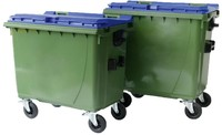 Waste containers 4 wheels