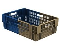Drehstapelbehälter 600x400x187 perforiert • 34 Liter • Bi Color