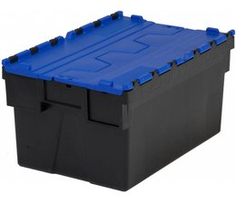 LOADHOG Distributiebak 600x400x400 blauw • 77 Liter