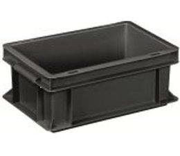 Eurobehälter 300x200x120 mm geschlossene Ausführung, geeignet für Versand, Lagerung und Schutz von elektronischen Bauteilen