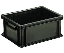 ESD Euro container 400x300x170 solid two handles