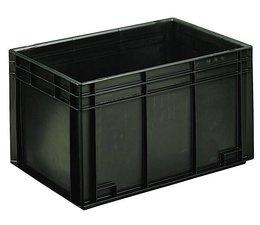 Eurobehälter 600x400x340 mm geschlossene Ausführung, geeignet für Versand, Lagerung und Schutz von elektronischen Bauteilen