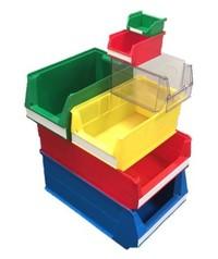Bacs de stockage ou bacs à bec plastiques