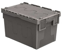 Bacs de distribution 600x400x365 gris • 67 Litres