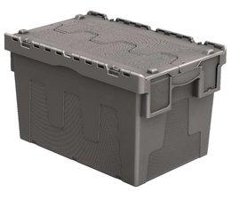 Distributiebak 600x400x365 grijs • 67 Liter