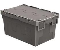 Bacs de distribution 600x400x315 gris • 54 Litres