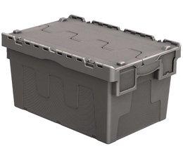 Distributiebak 600x400x315 grijs • 54 Liter