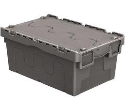 Distributiebak 600x400x265 grijs • 46 Liter