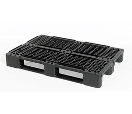 Kunststof Euro pallet • 1200x800x150 • zwaarlast met 3 onderlatten • rackable