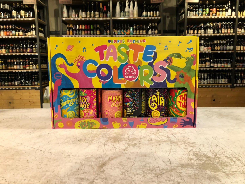 Oedipus geschenkverpakking met 6 bieren-1