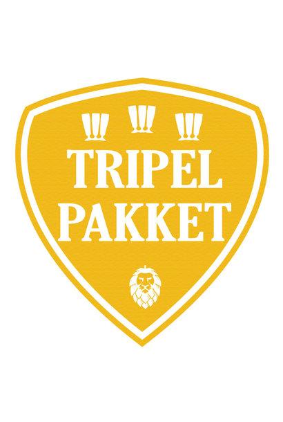 Tripel bierpakket