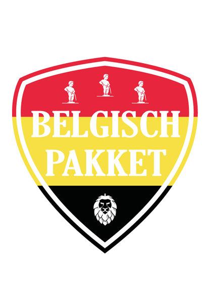Belgische bieren bierpakket