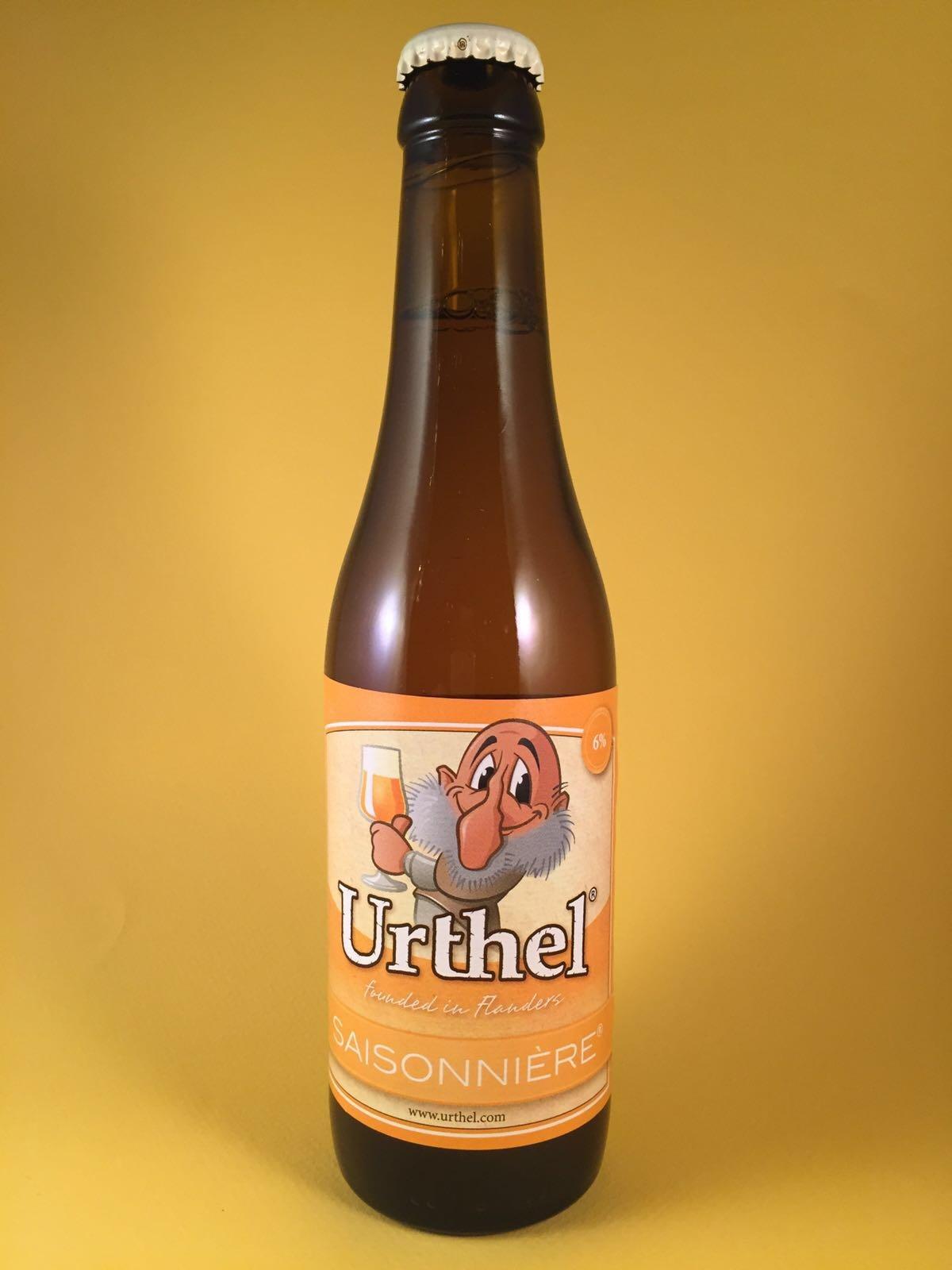 Urhtel Herkomst: Tilburg, Nederland Fris, sprankelend blond bier. Drinkt makkelijk door. Het bier komt oorspronkelijk uit België maar is sinds 2007 overgenomen door Koningshoeve. Doordat het bier licht troebel is blijft de hop en het mout daar waar het hoort. Het bier bevat een alcoholpercentage van: 6%. Serveeradvies: Tussen de 4 en 6 graden
