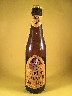 Pater Lieven Blond Herkomst: Sint-Lievens-Esse, België Opvallend aan dit bier is de geur. De zure geur is echter niet terug te vinden in de smaak. Het bier is mooi rond en blond met een bleekgele kleur. In de smaak zijn tonen van mout en bloemen terug te vinden en de koolzuursprenkeling laat je tong tintelen. Het bier bevat een alcoholpercentage van 6,5%. Advies serveertemperatuur: 6 à 7 graden.