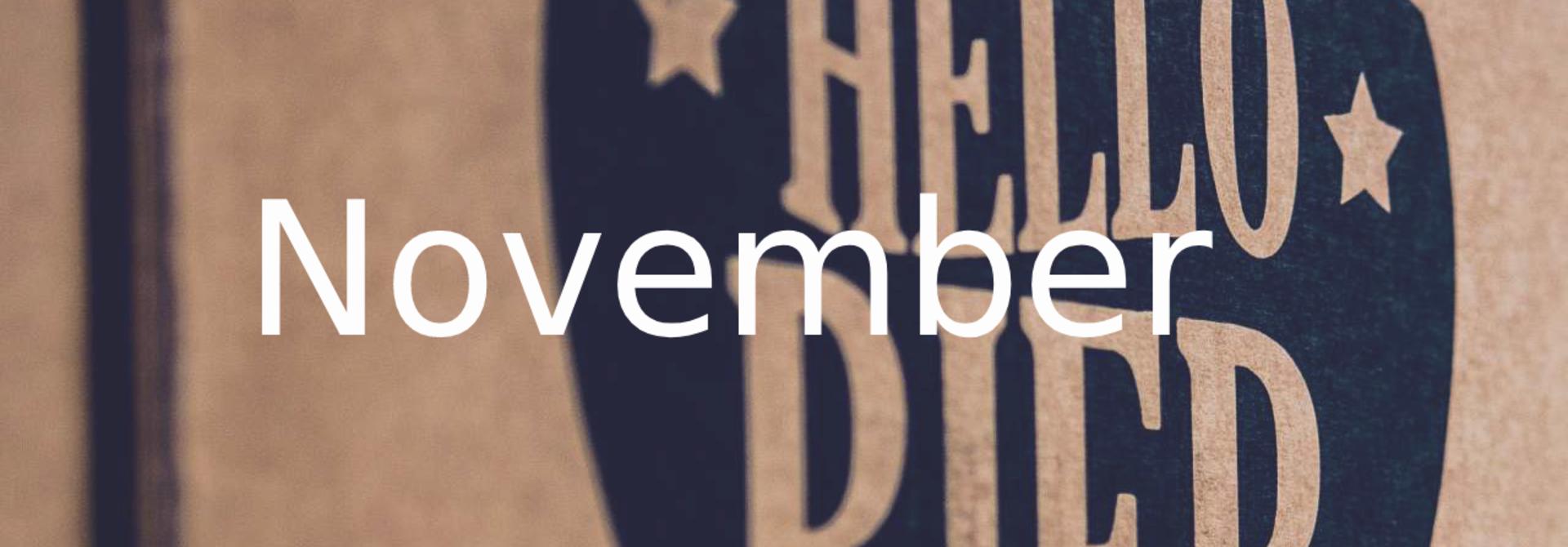 Hellobier speciaalbierpakket november 2017