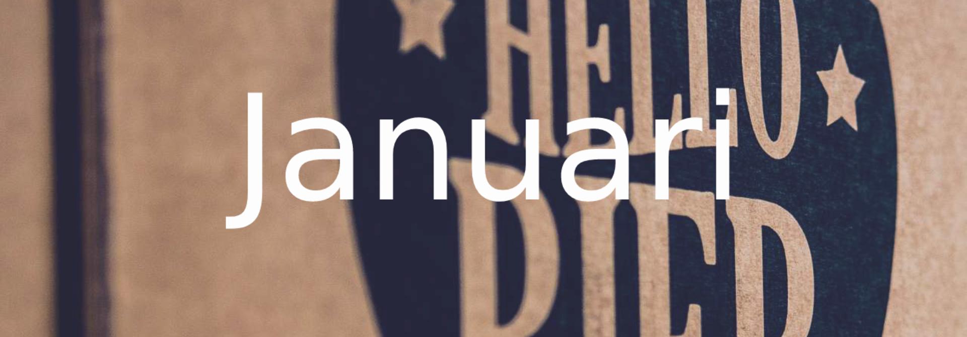 Speciaalbier – bierpakket januari 2018