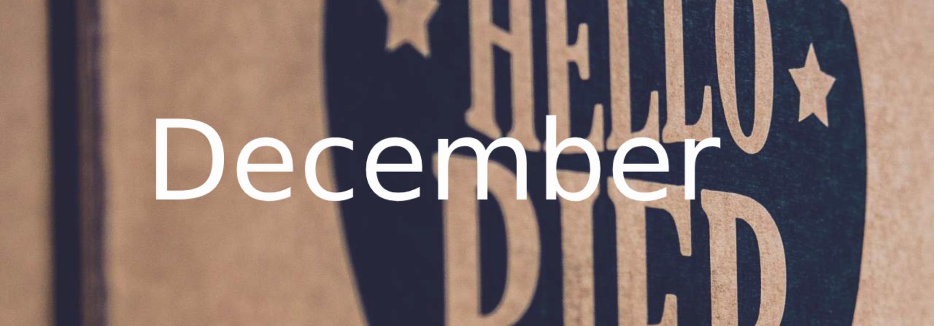 Speciaalbier – bierpakket december 2018
