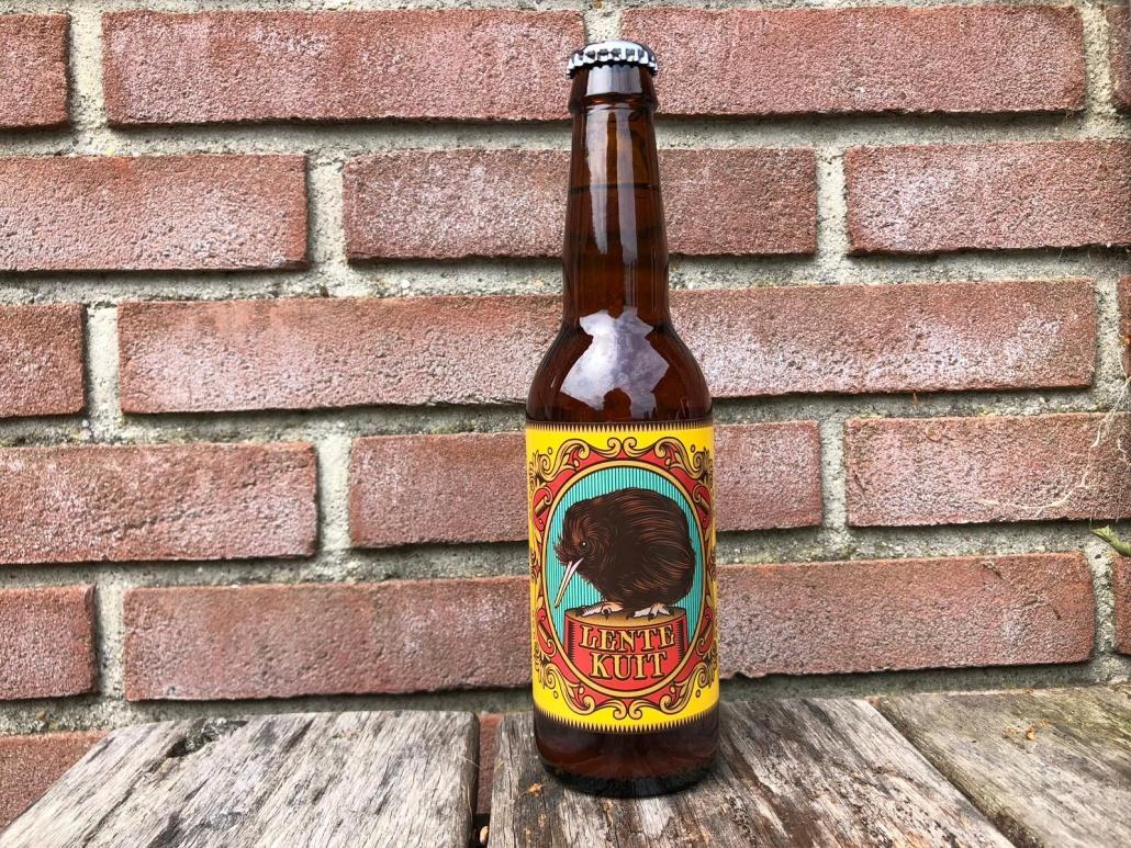 Lente Kuit  Herkomst: Goirle, Nederland  Mistig blondbier met de kleur citroensap. Fris bier als je dit bier koud drink maar zodra het bier in je mond wat warmer wordt bestaat het smakenpallet uit drop en laurier en in de afdronk ontdek je salmiak. De smaken zijn verrassend ten opzichte van de kleur van het bier. Dit bier is ontstaan door een samenwerking van Grutte Pier uit Leeuwarden en Craftwork Brewery. Brouwstijl kuit is een bier waarbij voornamelijk haver wordt gebruikt om te brouwen met een klein deel gerst en nog kleiner deel tarwe.  Alcoholpercentage: 6%