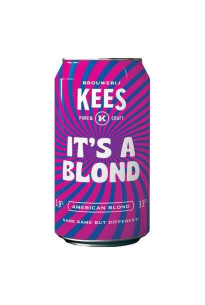 KEES IT'S A BLOND 33CL BLIK