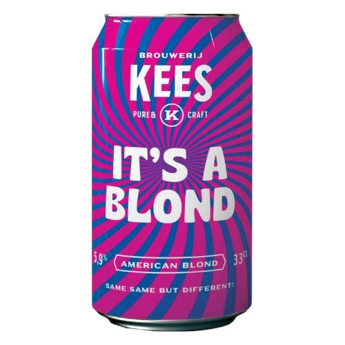 KEES IT'S A BLOND 33CL BLIK-1