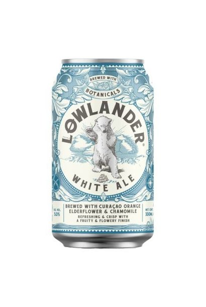 LOWLANDER WHITE ALE 33CL