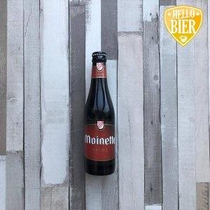 Moinette Brune   Herkomst: Tourpes, België  Kastanjebruin bier met beige schuimkraag. Zacht van smaak met een laag koolzuurgehalte. Smakenpallet bestaat uit rood fruit en karamel. De afdronk is licht zoet maar maakt je mond niet plakkerig. Moinette Brune is afkomstig van Brasserie Dupont. Een brouwerij met een rijke historie waarvan de boerderij al werd gebouwd in 1759 maar pas werd omgetoverd tot brouwerij in 1844.  Een brouwerij waarbij Saison Dupont symbool staat voor de brouwerij dat al in 1920 werd gebrouwen. Moinette Brune stamt uit 1986. Naast een brouwerij vindt je op de locatie ook een bakkerij en kaasmakerij.   Alcoholpercentage: 8,5%