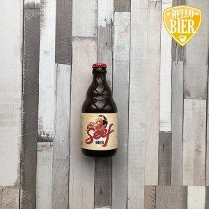 Seef bier   Herkomst: Antwerpen, België  Fris troebel blondbier met de kleur van festini. Vol en romig van smaak met een fijn zuurtje. Dorstlessend voor warme zomerdagen. Seef bier is afkomstig van de Antwerpse Brouw Companie. Een onafhankelijke brouwerij uit Antwerpen die wordt gesteund door circa duizend crowdfunders.  Deze bierliefhebbers willen bieren brouwen die tradities in stand houden maar waarbij ook nieuwe smaakcombinaties worden ontdekt. Het is belangrijk dat de bieren niet op andermans bieren lijken.   Duurzaamheid staat bij deze brouwerij hoog in het vaandel. De bieren worden gebrouwen met 100% groene stroom en er wordt onder andere warmte opgewekt uit de dampen die ontstaan tijdens het brouwen.   Alcoholpercentage: 6,5%