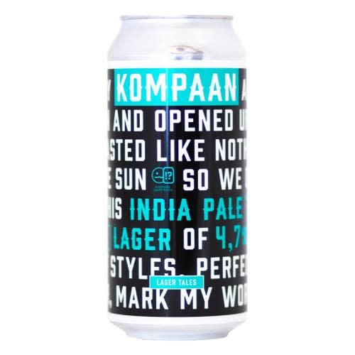 KOMPAAN - LAGER TALES #3 INDIA PALE LAGER 44CL BLIK-1