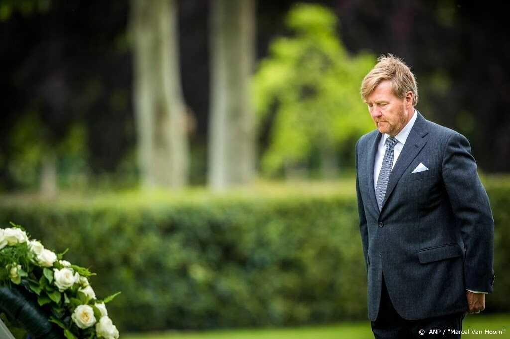 Koning Willem Alexander Begrafenis