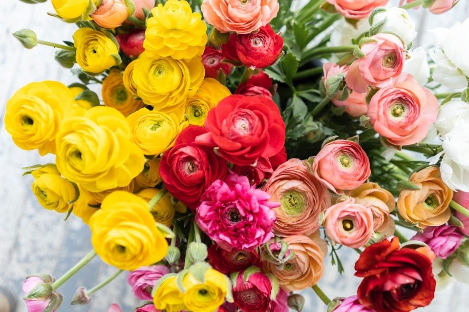 rouwbloemstuk