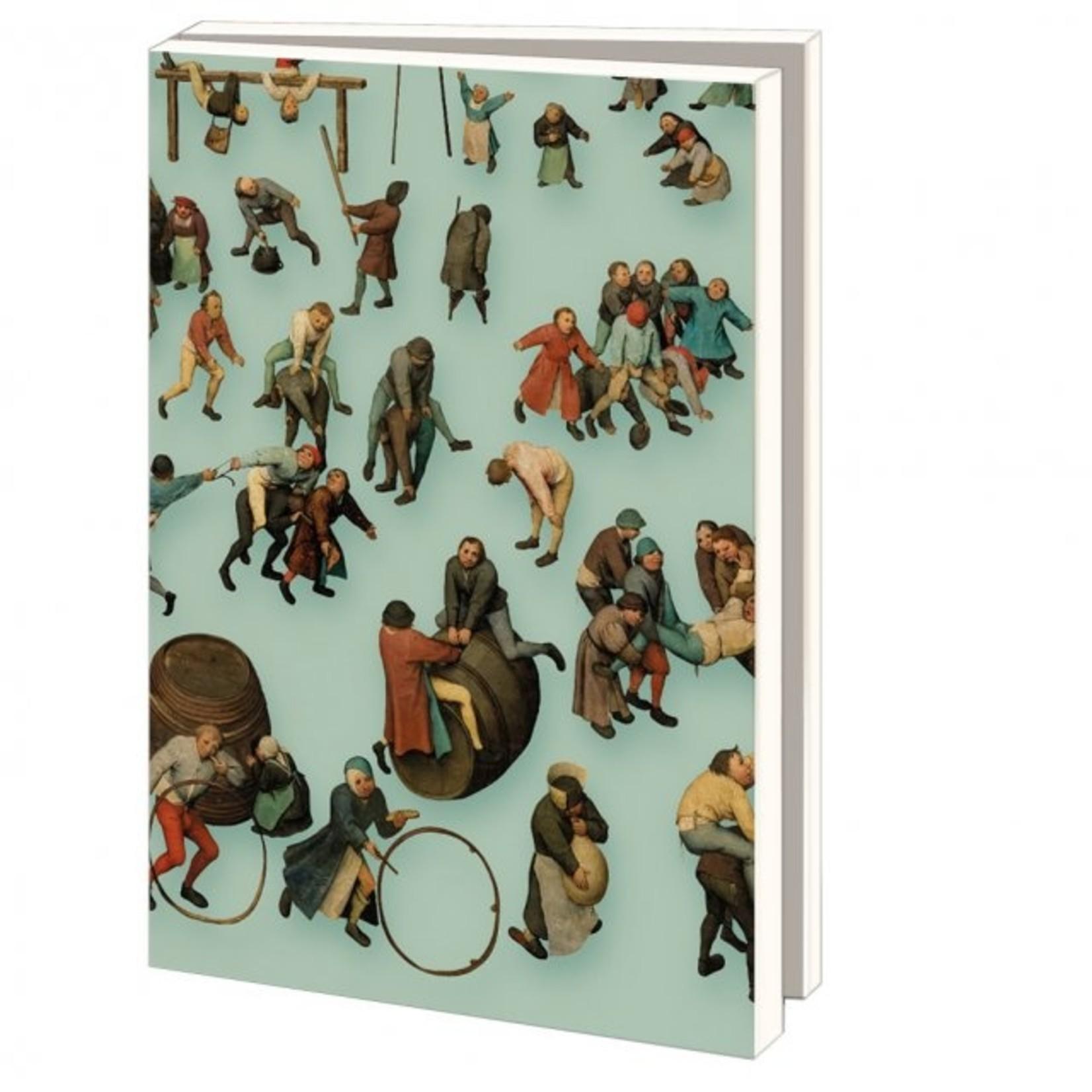 Bekking & Blitz Kaartenmap Kinderspiele van Pieter Bruegel