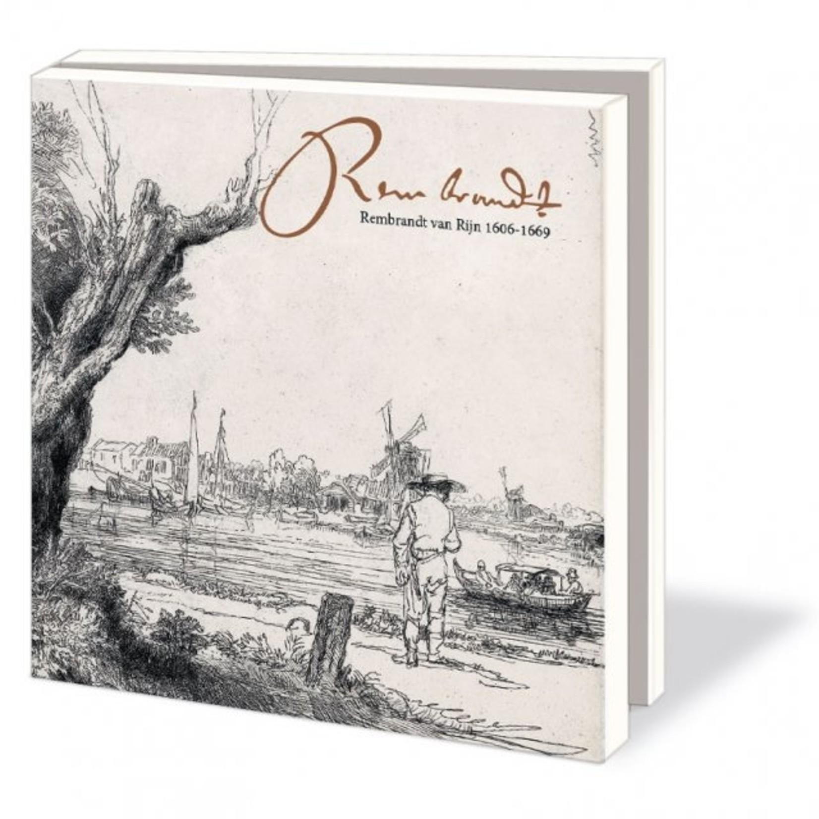 Bekking & Blitz Kaartenmap: Rembrandt van Rijn