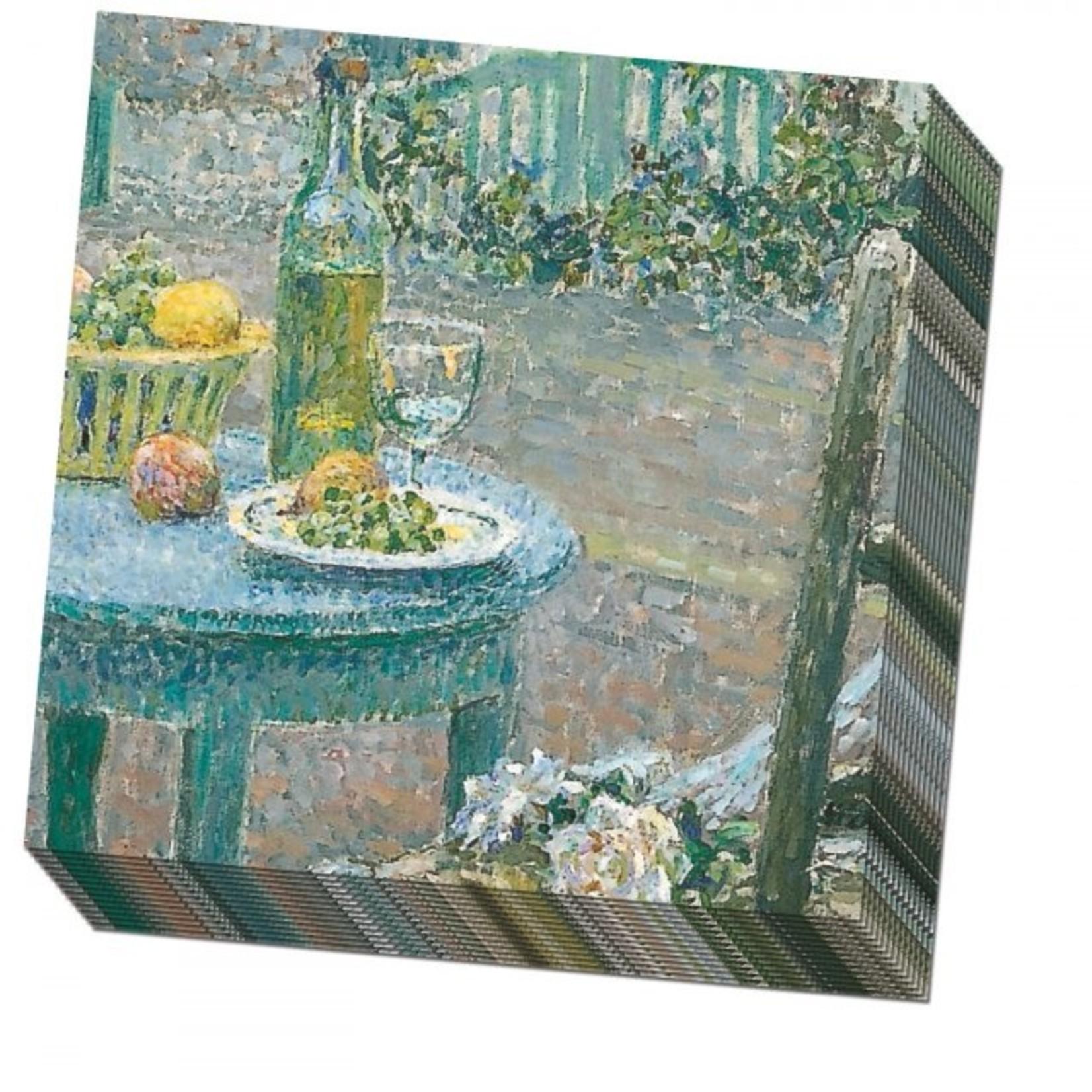 Bekking & Blitz Servetten: La table bleue