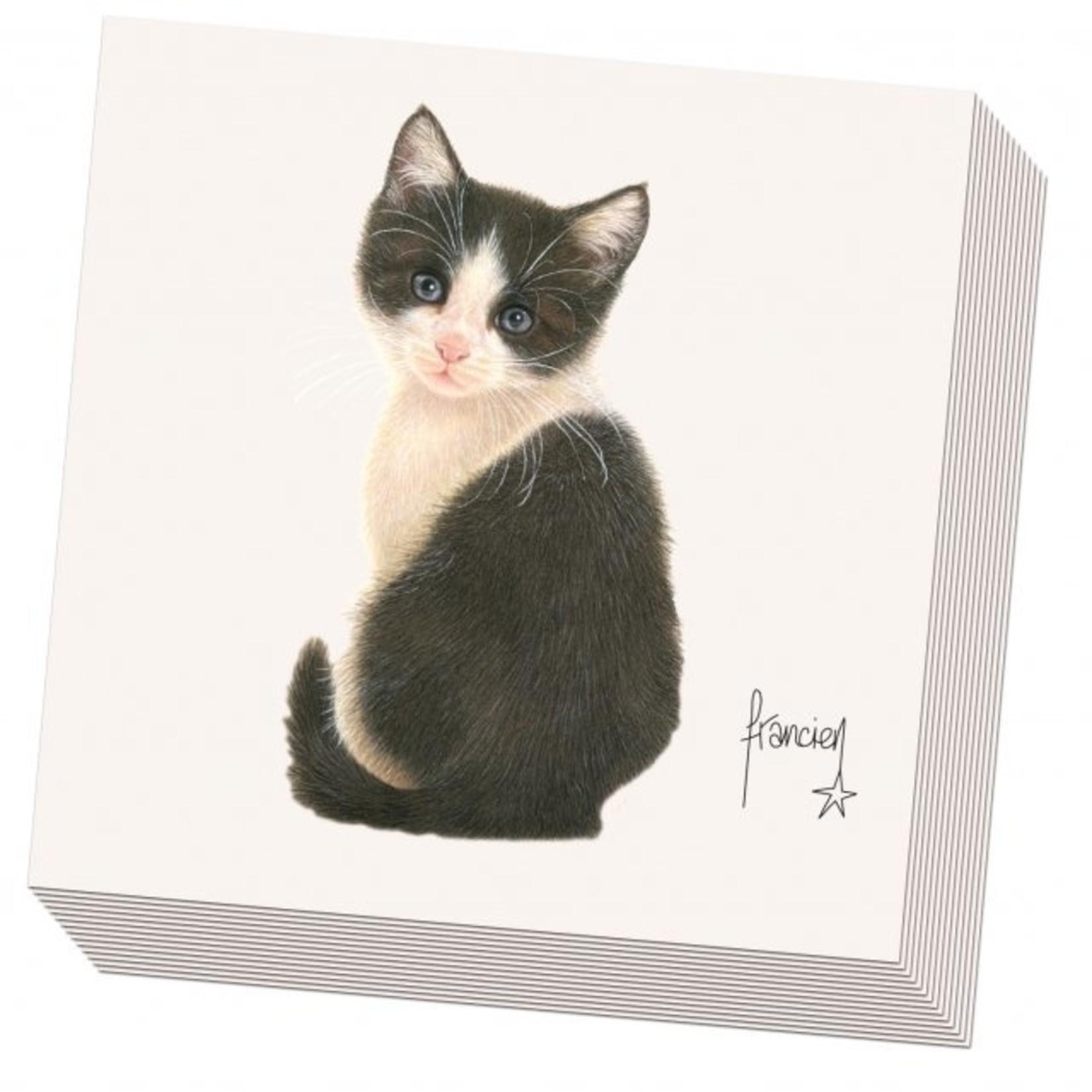 Bekking & Blitz Servetten: Franciens katten