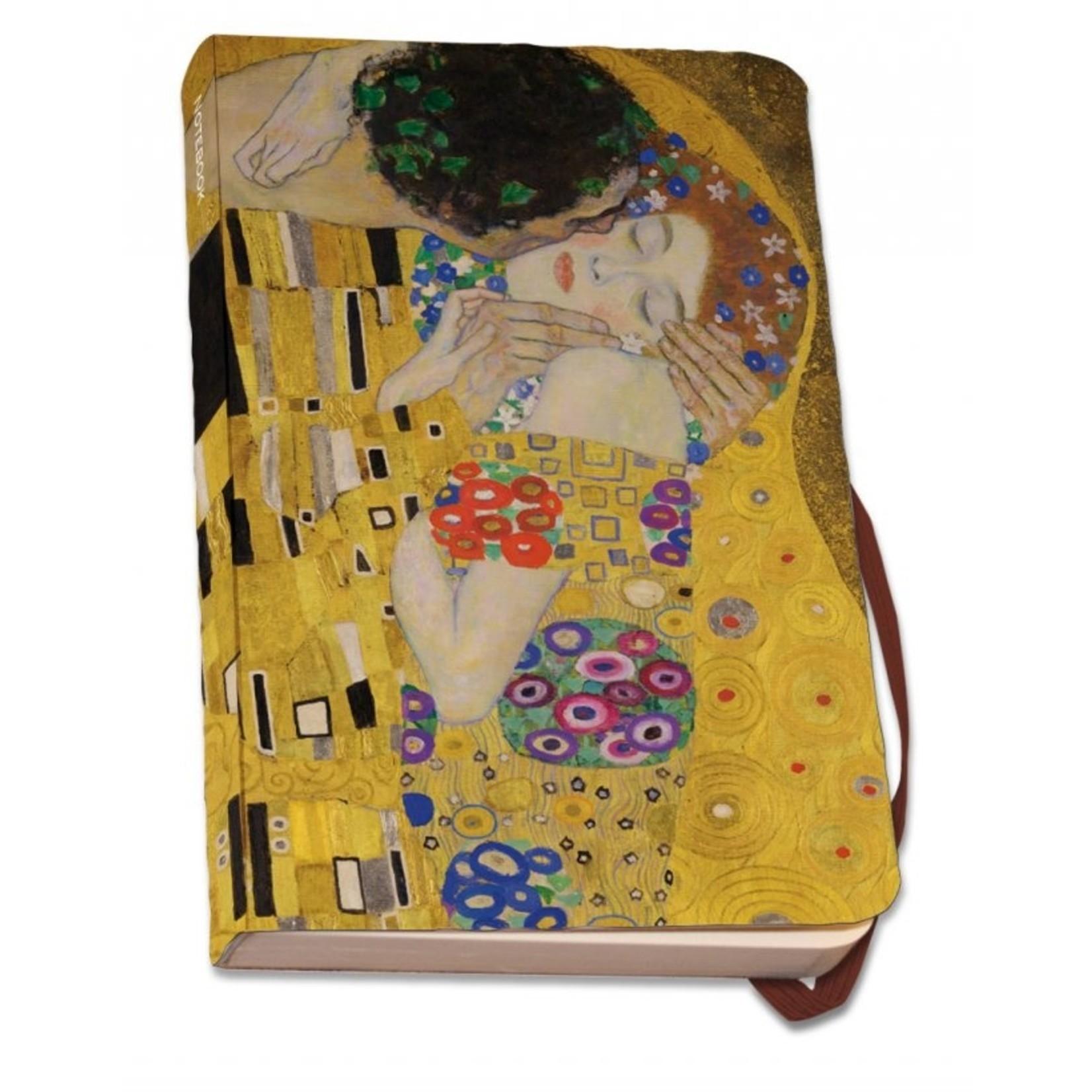 Bekking & Blitz A6 zachte kaft, De kus van Gustav Klimt