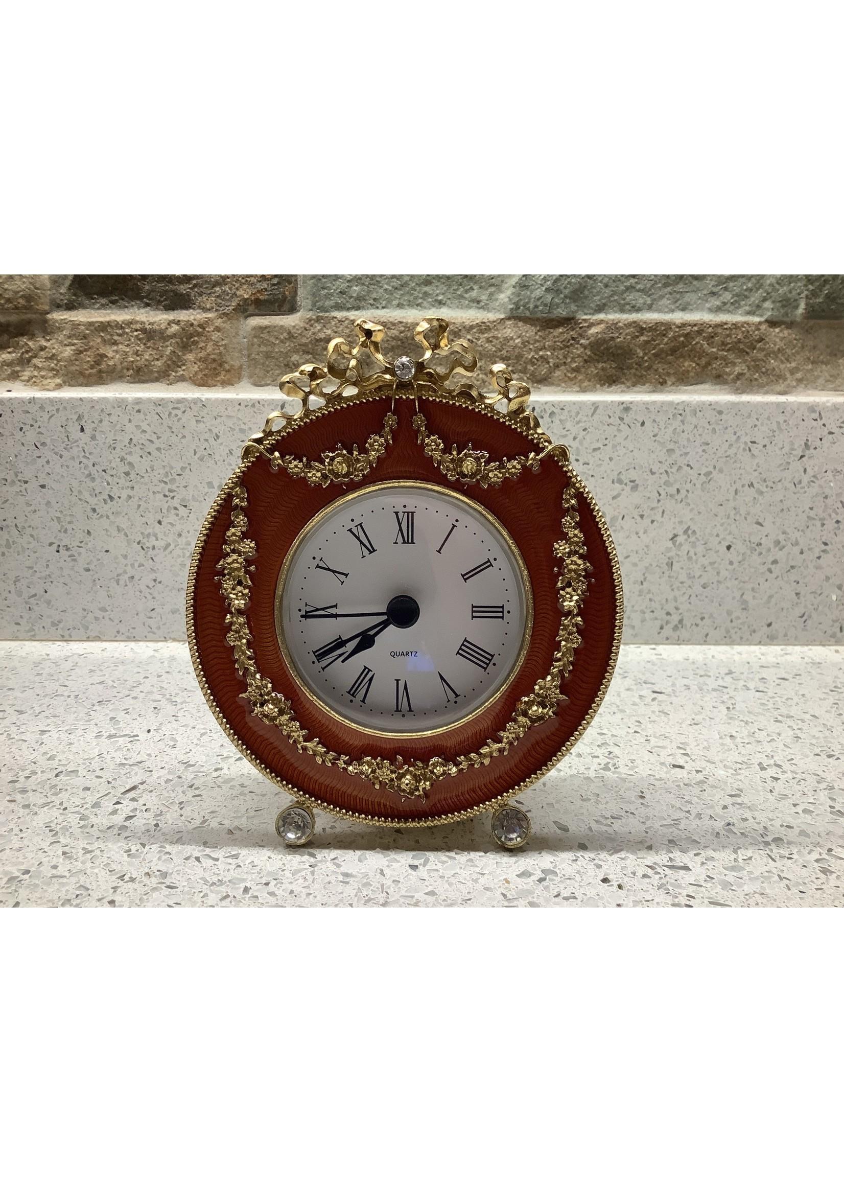 Enamel Clock