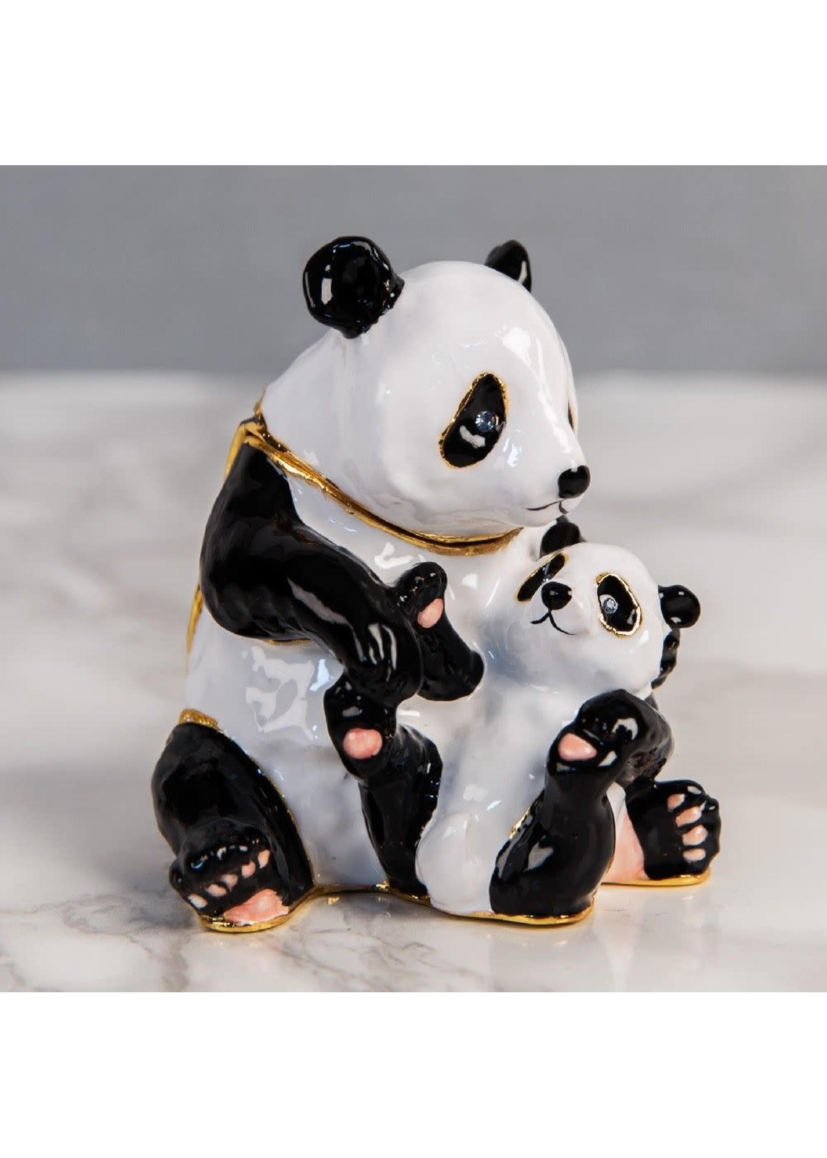 TREASURED TRINKETS - PANDA AND BABY