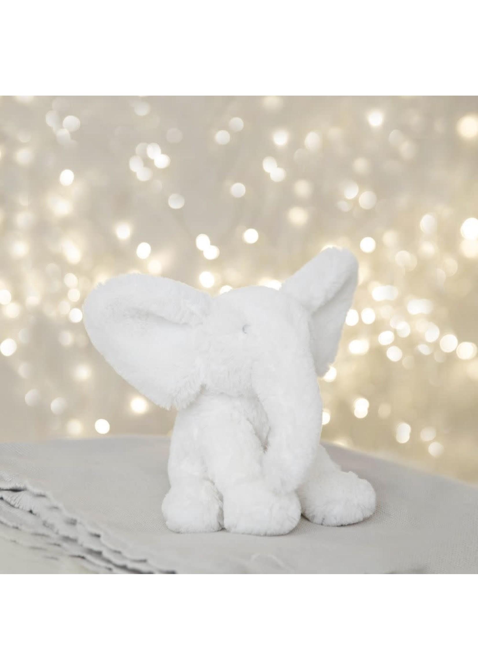 BAMBINO WHITE PLUSH ELEPHANT SMALL 13CM