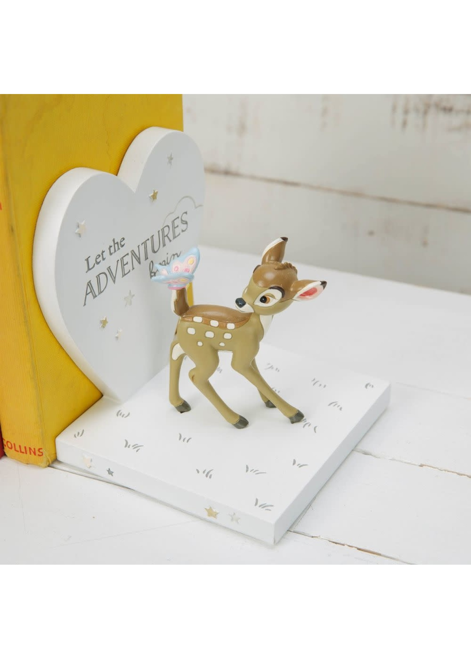 DISNEY MAGICAL BEGINNINGS MOULDED BOOKENDS - BAMBI