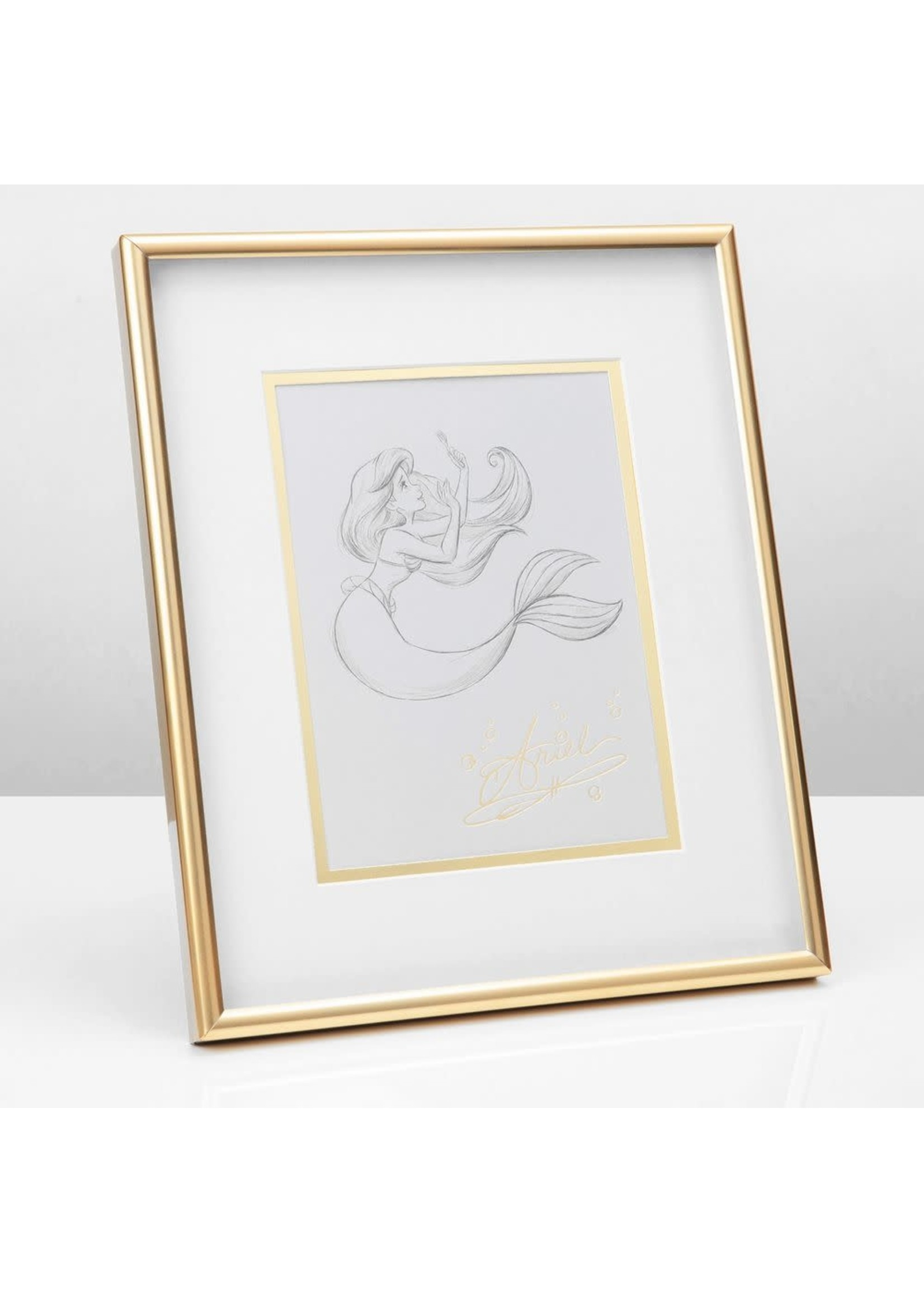 DISNEY CLASSIC COLLECTABLES FRAMED PRINT - ARIEL