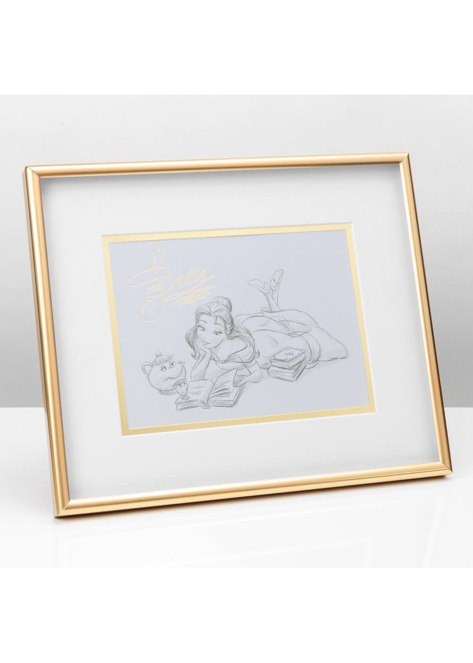 DISNEY CLASSIC COLLECTABLES FRAMED PRINT - BELLE