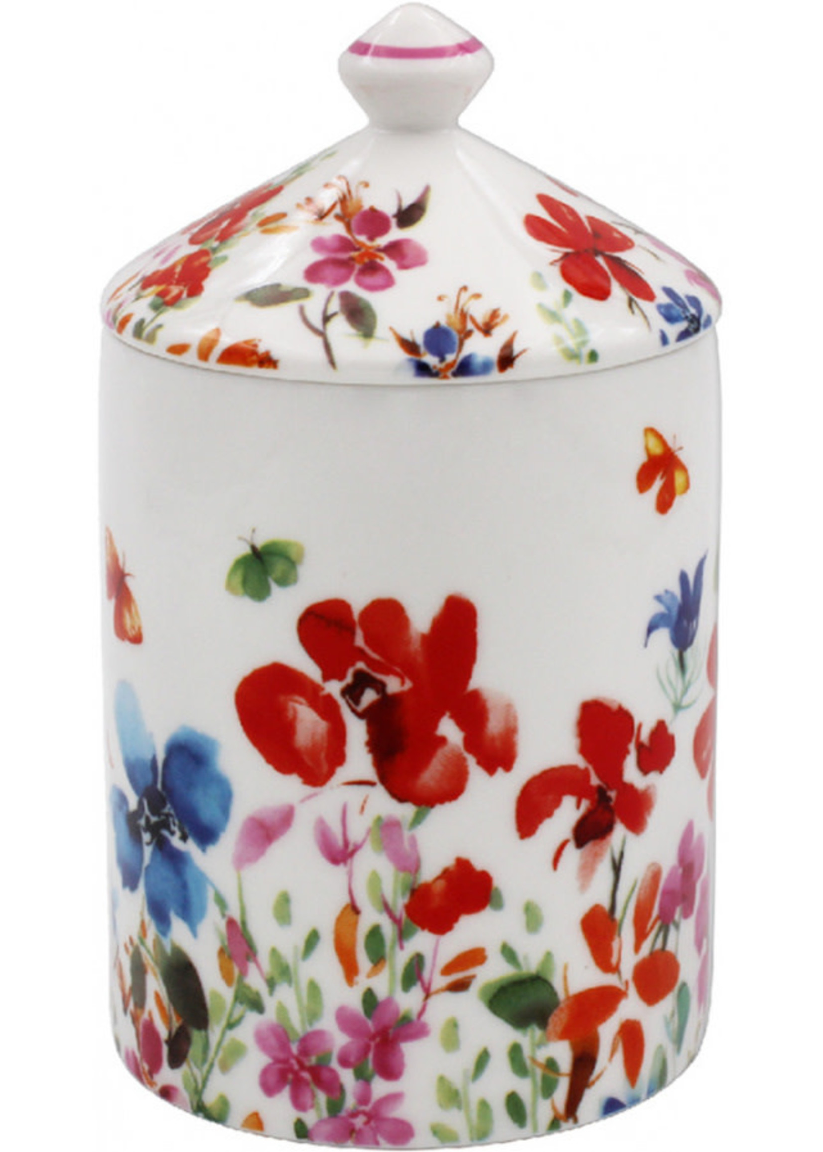 Colourful Meadow Candle Jar