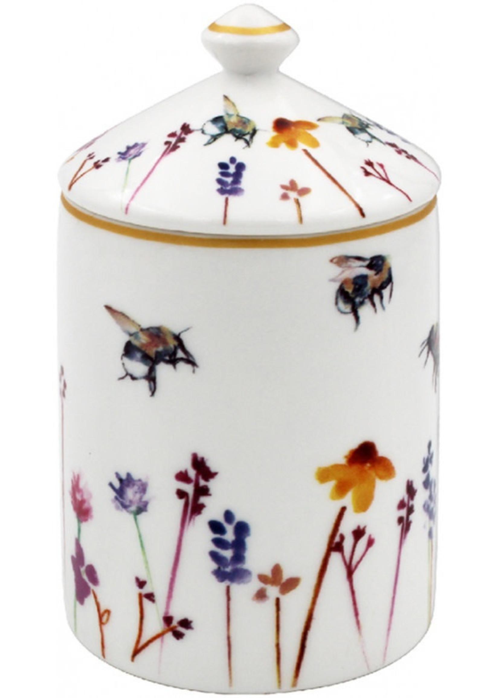 Busy Bee Garden Candle Jar