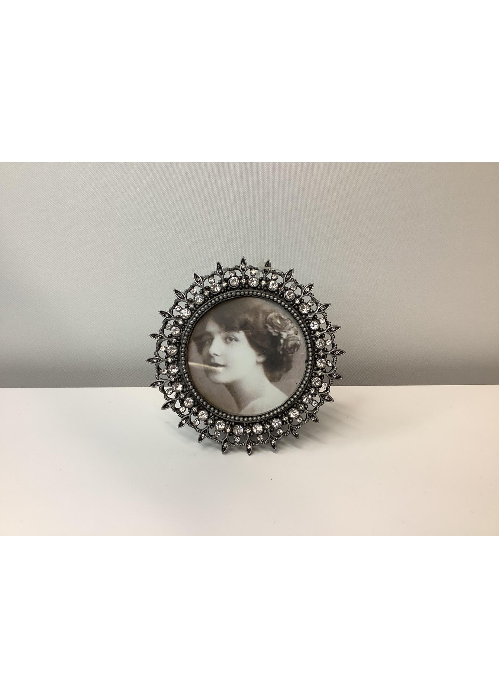 Silver Deco Frame 10cm