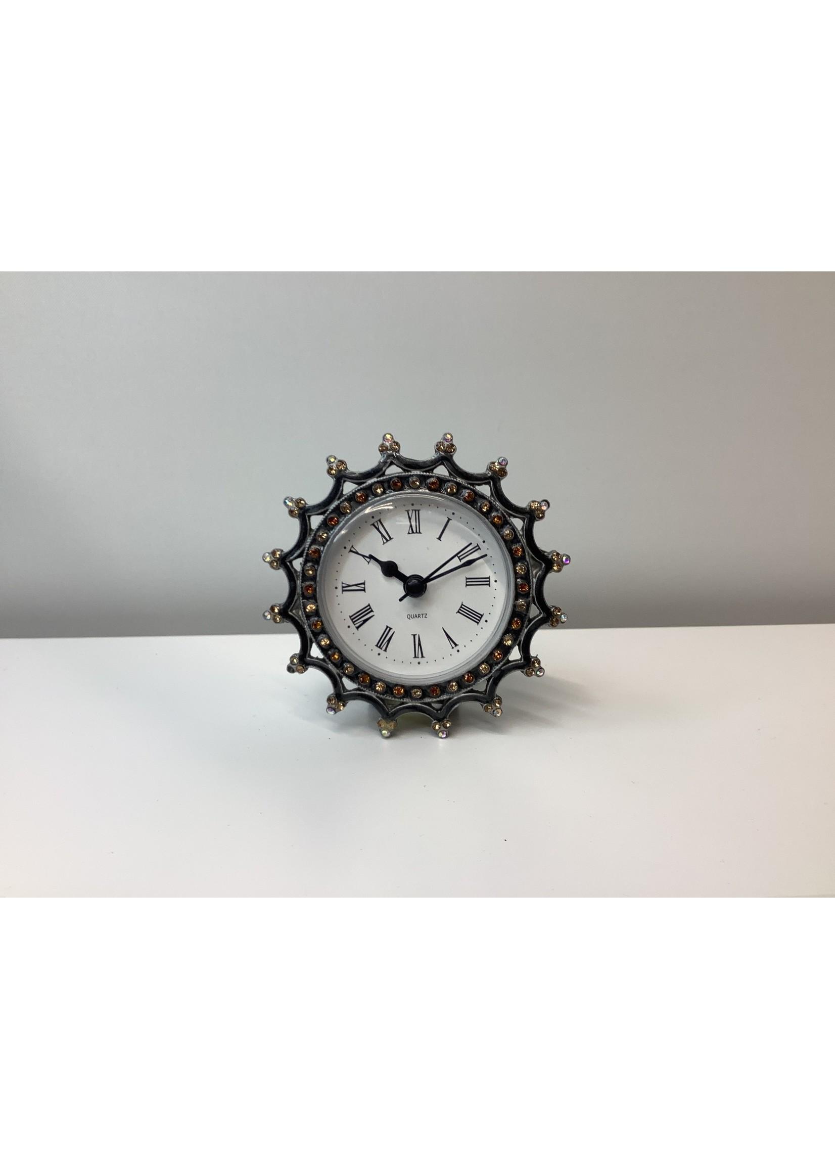 Crown Clock 9cm