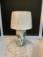 Palm pattern table lamp 62cm tall